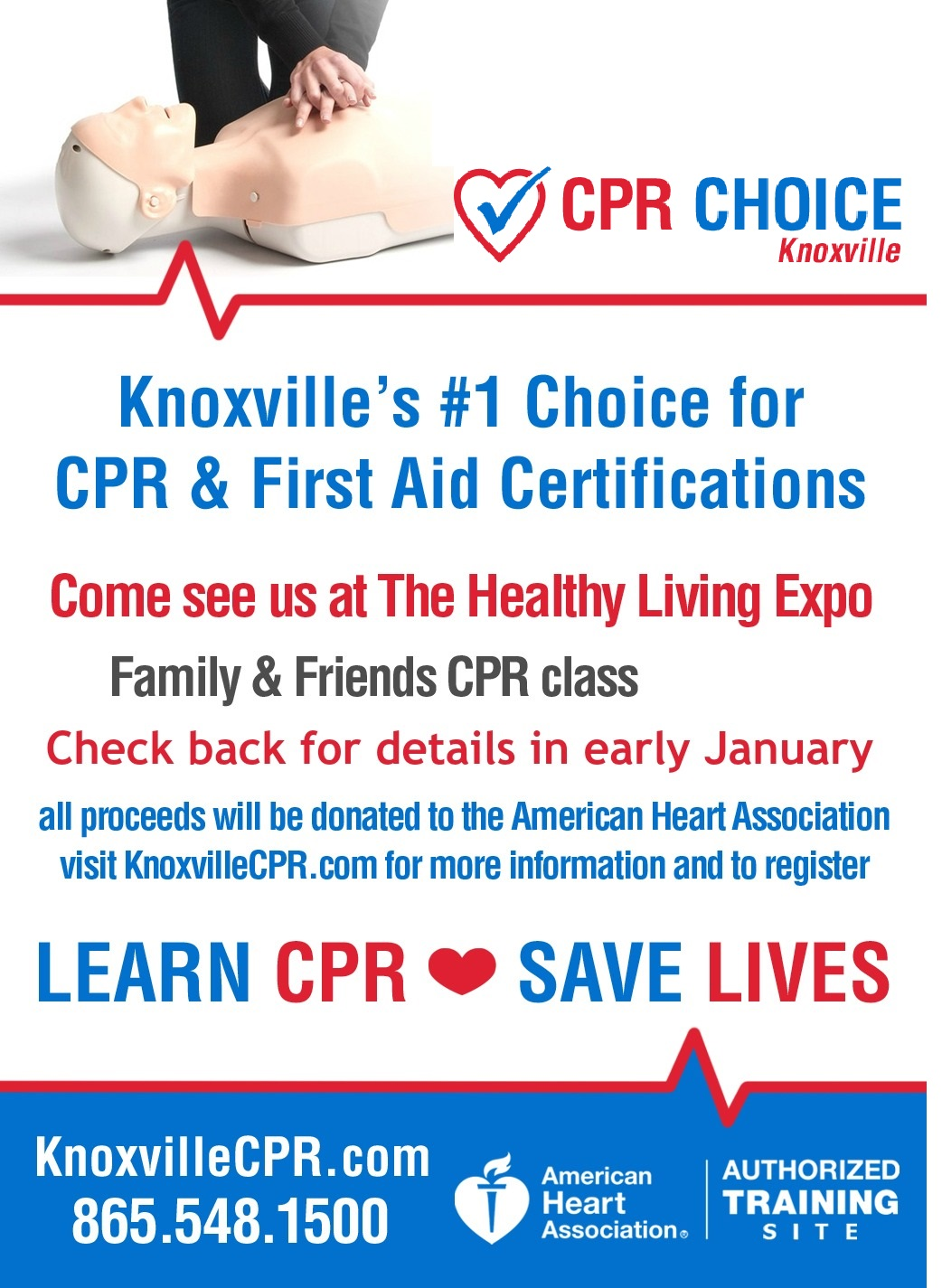 The healthy living expo knoxville tn cpr choice knoxville 1betcityfo Choice Image